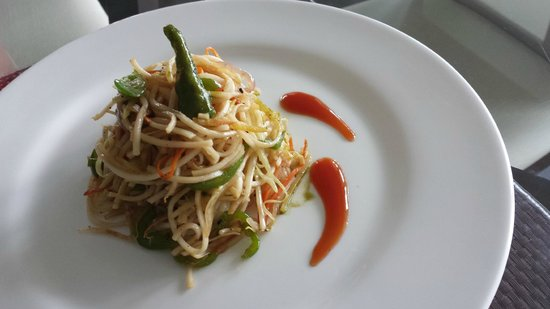 Farview Mountain Resort Villas : Veg Noodles