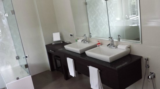 Farview Mountain Resort Villas : Twin sink