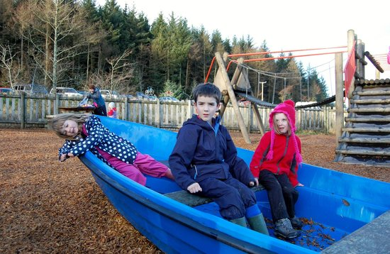 Llyn Brenig Visitor Centre: Llyn Brenig Adventure Playground