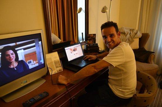 Hotel Liabeny: Escritorio