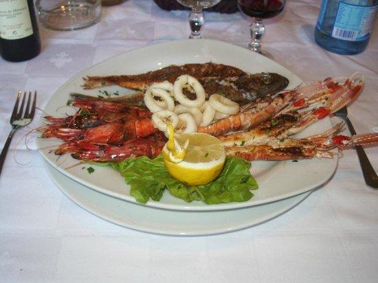 Restaurant Les Gazelles : Portate