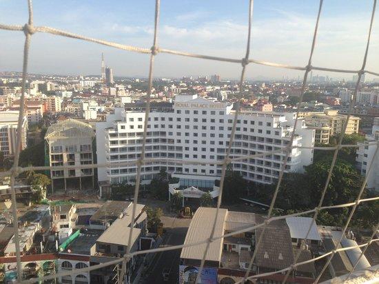 Royal Palace Hotel: in balon