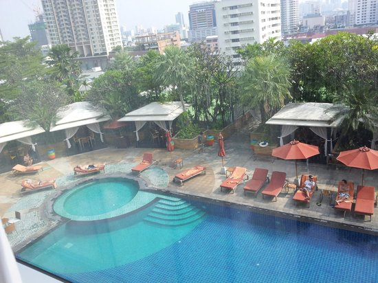 Ascott Sathorn Bangkok : pool side