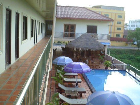AQUA family Resort : from my room
