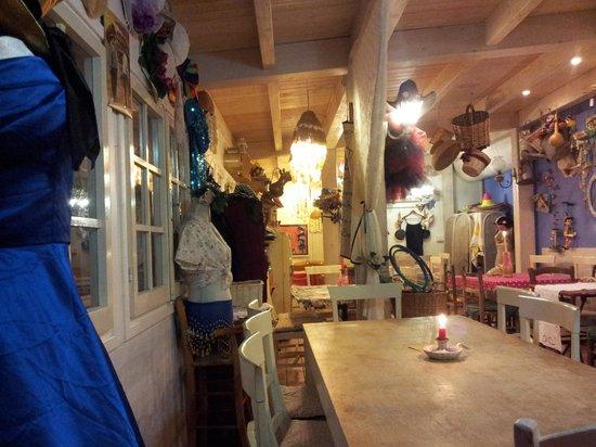 Kiosquito 46: l'interno del locale