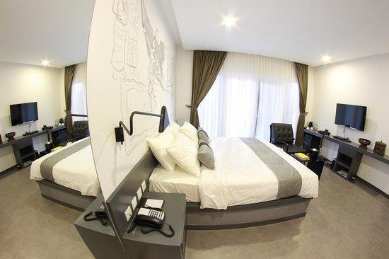 TEAV Boutique Hotel: guest  room