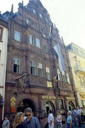 Hotel Zum Ritter : facciata