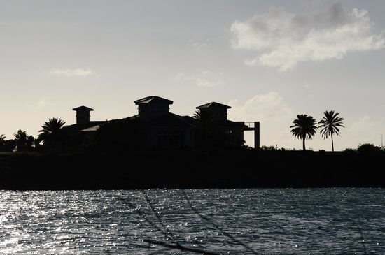 Buccaneer Beach Club: tramonto