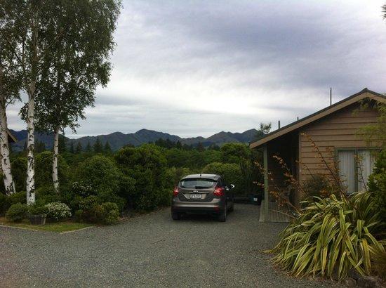 Chalets Motel: beautiful View