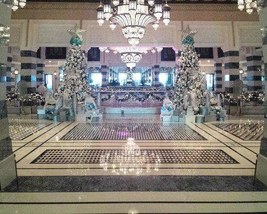 Jumeirah Al Qasr at Madinat Jumeirah: La sontuosa reception