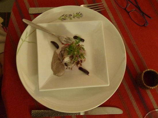 Mapuyampay Lodge Gastronómico: Voorgerechtje