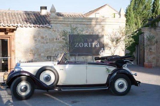 Hacienda Zorita Wine Hotel & Spa : entrada principal