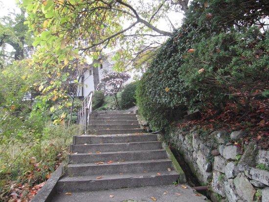 Kompira-gu Shrine: まだまだ階段は続く