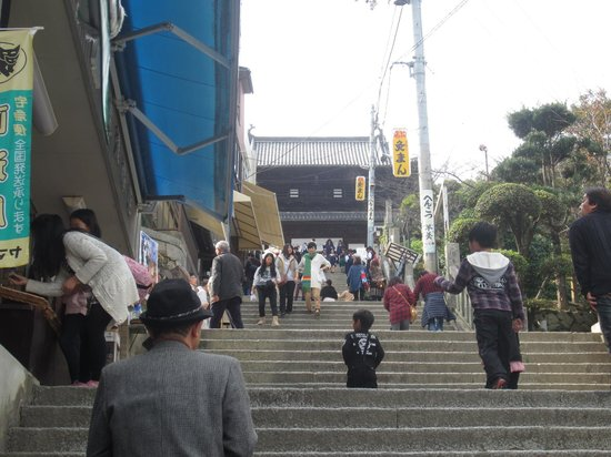 Kompira-gu Shrine: 祈りより階段