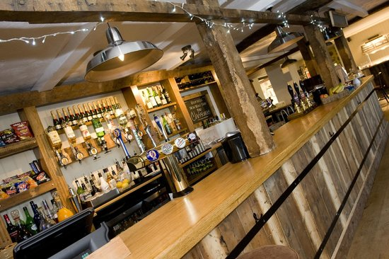 The Countryman Inn: The Bar and restaurant have been redecorated too.