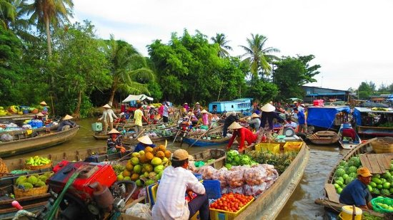 phong dien floating market - Top 10+ Unique & Amazing Things To Do in Can Tho, Vietnam – Updated 2021