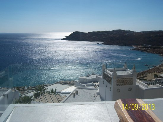 Myconian Villa Collection : view from the room