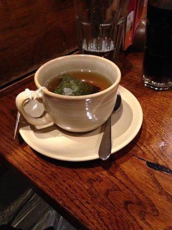 Mint Tea at Giraffe, Walton on Thames