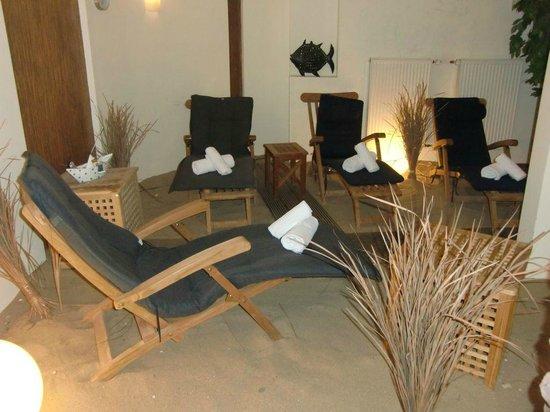 Hotel Rickmers Insulaner: Ruhebereich der Sauna