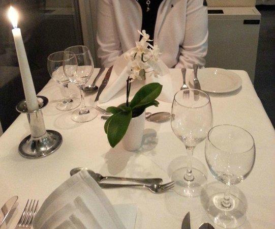 Hotel Rickmers Insulaner: gedeckter Tisch