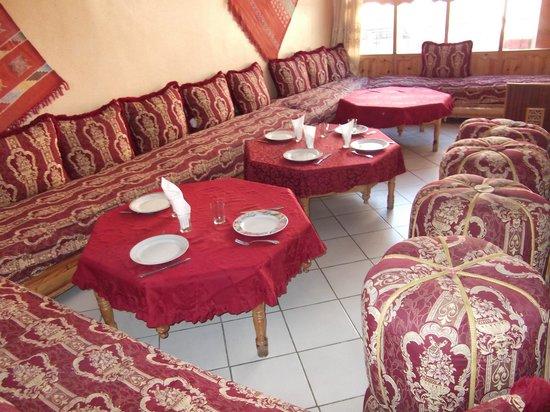 Restaurant La Kasbah: Gemütlicher Speisebereich