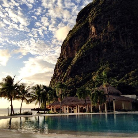 Sugar Beach, A Viceroy Resort : View From The Pool