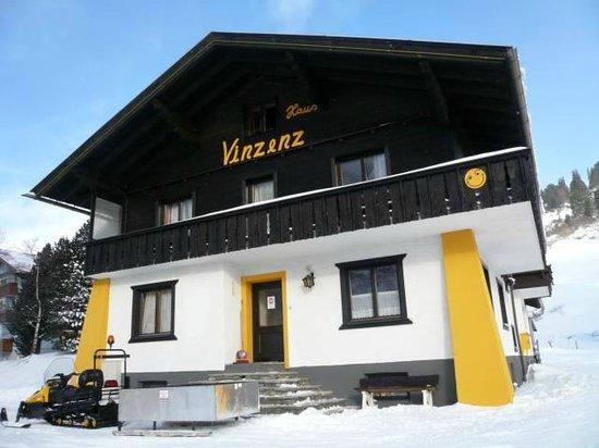 Haus Vinzenz: frontansicht