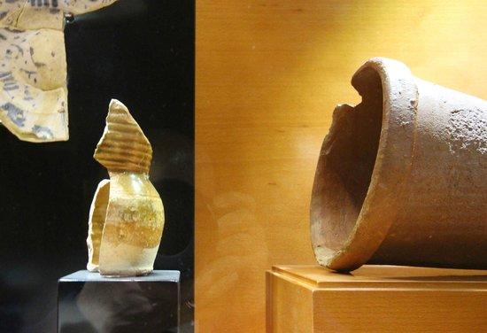 Museo y Parque Arqueologico Cueva Pintada : Restos arqueologicos