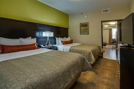 Perfect Staybridge Suites Atlanta Airport: Two Queen Bed Studio Awesome Design