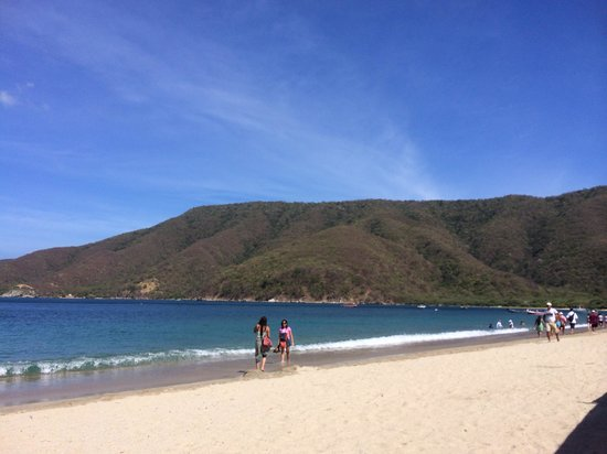 Santa Marta, Kolumbia: The beach
