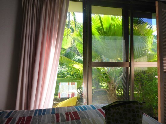Mango Bay Resort: Bedroom Window