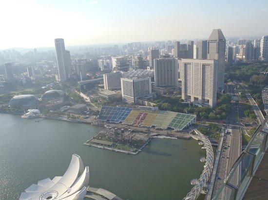 Swissotel The Stamford Singapore : Смотровая площадка
