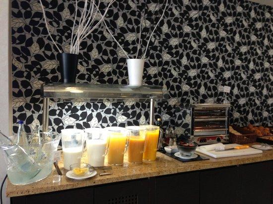 Eurostars Executive Hotel: Restaurante- desayuno buffet