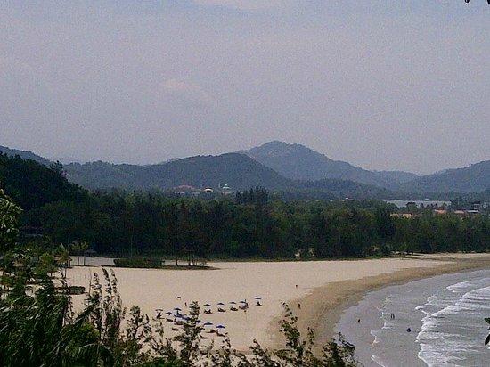 Shangri-La's Rasa Ria Resort & Spa : view from the jungle