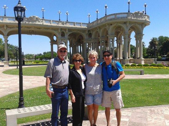 Bonaventura Trips - Private Tours : Good texans in Tigre!