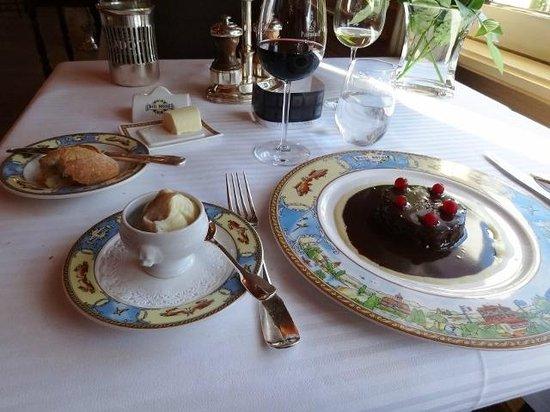 Paul Bocuse, Auberge du Pont de Collonges: No. It's not dessert. it's hare...