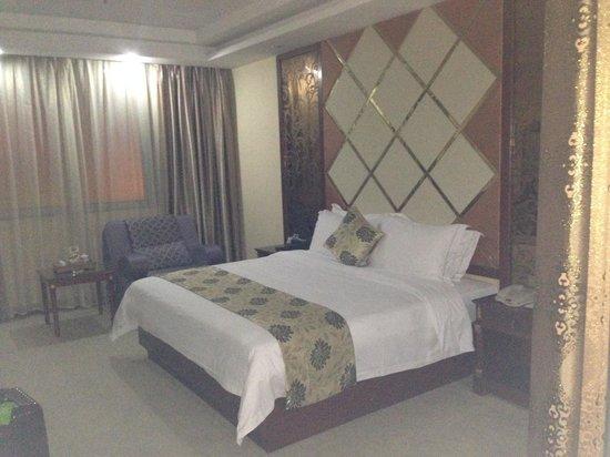 Kailong International Hotel: ベッド