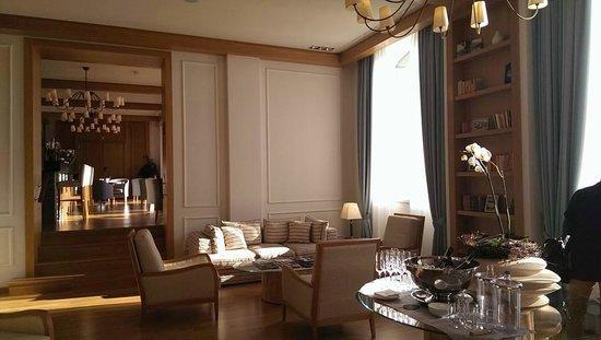 Kurhaus Cademario Hotel & Spa: Lobby