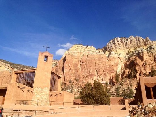 Abiquiu, نيو مكسيكو: The Monastery