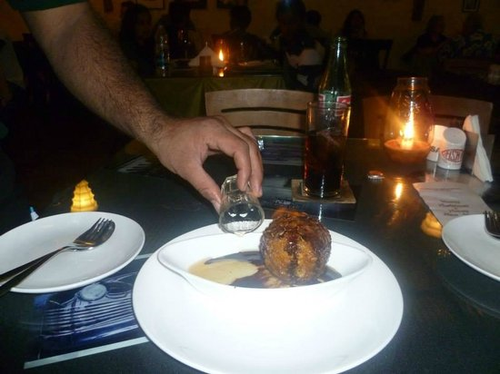 Fishka Bar& Restaurant: Fried Ice Cream
