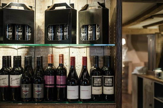 The White Hart: Our Upham Ale gift packs and Wines...