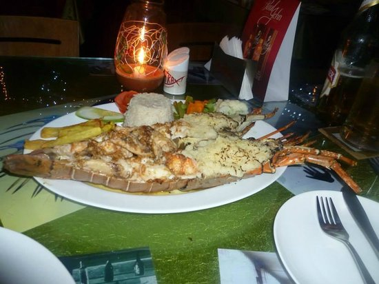 Fishka Bar& Restaurant: Lobster
