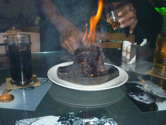 Fishka Bar& Restaurant: Volcano