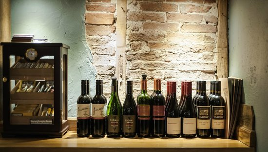 The White Hart: A selection of our Red Wines