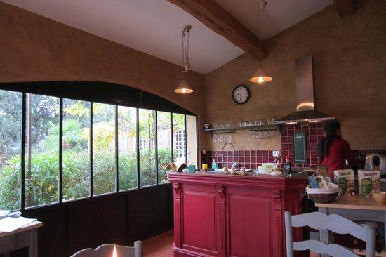 La Palière : La cuisine où on prend le petit déjeuner