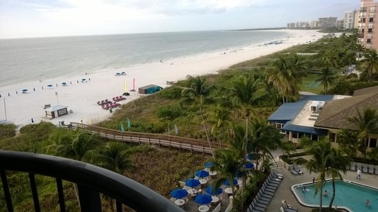 Hilton Marco Island Beach Resort : View from room