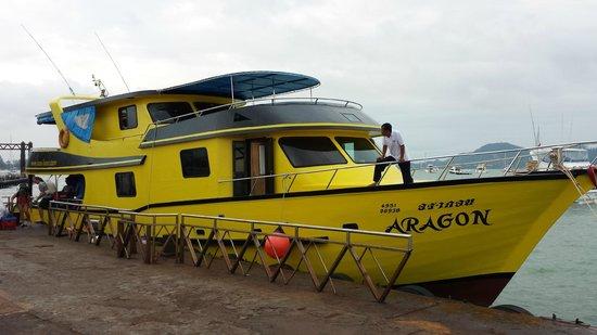 Sea Bees Diving - Chalong: The ship Aragon