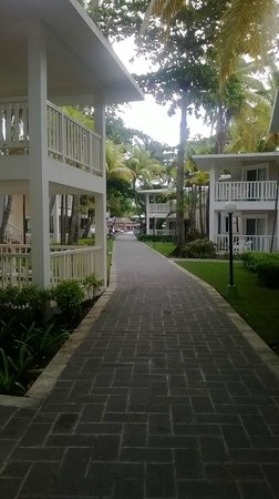 ClubHotel Riu Merengue: the walkways
