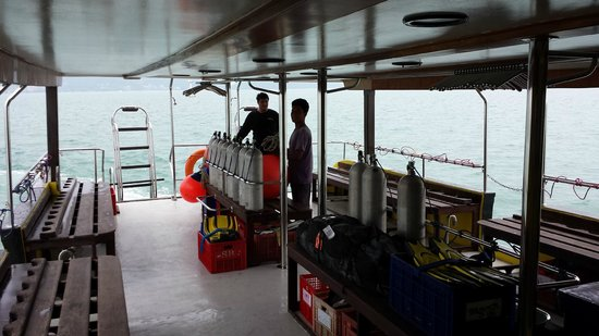 Sea Bees Diving - Chalong: Diving platform