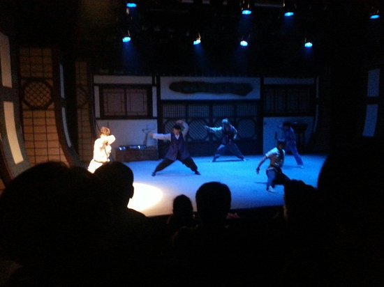 Jump! Comic Martial Arts Performance : 演技